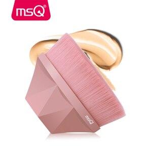 MSQ NO.55 кисть для основы для макияжа, гладкая, плотная, с полным покрытием, жидкий BB крем, плоская кисть для макияжа, алмазные косметические инс...