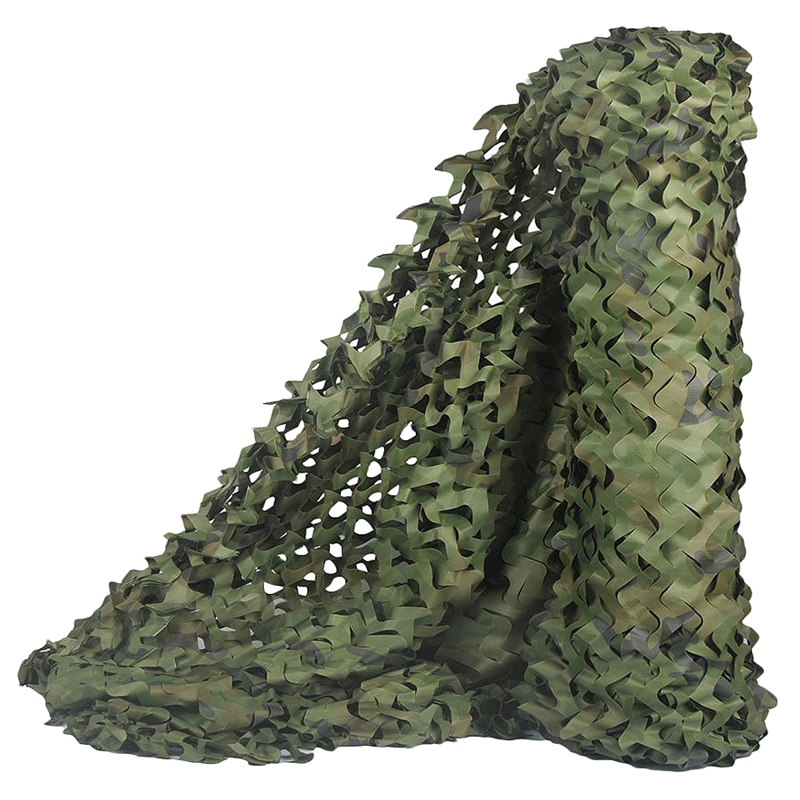 Hunting Camouflage Nets Woodland Camo Netting Blinds Great For Sunshade Camping Party Decoration,7Mx2M