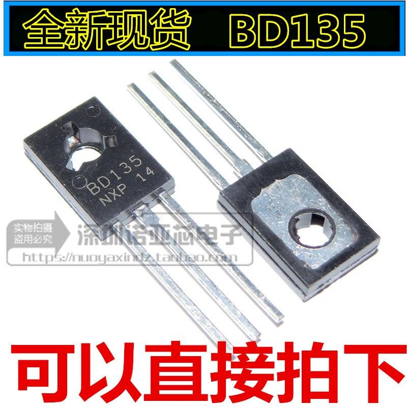 10pcs/lot New Power Transistor BD135 NPN 1.5A 45V TO-126 Transistor