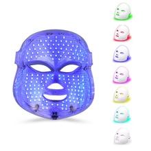 Светодиодный светильник для лица, 7 цветов