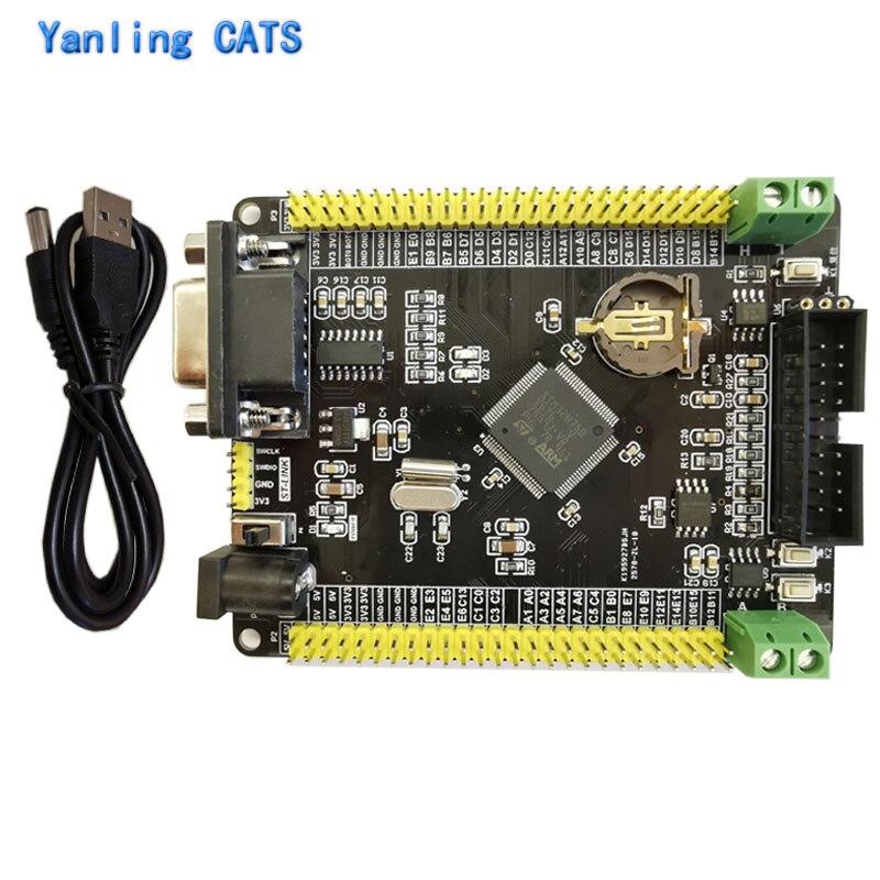 Stm32h750vbt6 placa de desenvolvimento braço stm32h7 cortex m7 rs232 pode rs485 controle industrial mcu controlador 1 pces ZL-10