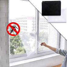 Window-Screen Curtain Mesh Anti-Fly Anti-Mosquito DIY Bug for And Adhesive