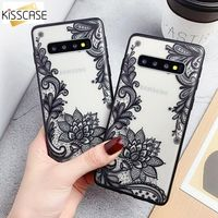 Sexy Floral Phone Case For Samsung Galaxy S8 S9 PLus Back Cover Lace Flower Cases For Samsung Note 8 9 S7 Edge S7 S6 S6 Edge A5