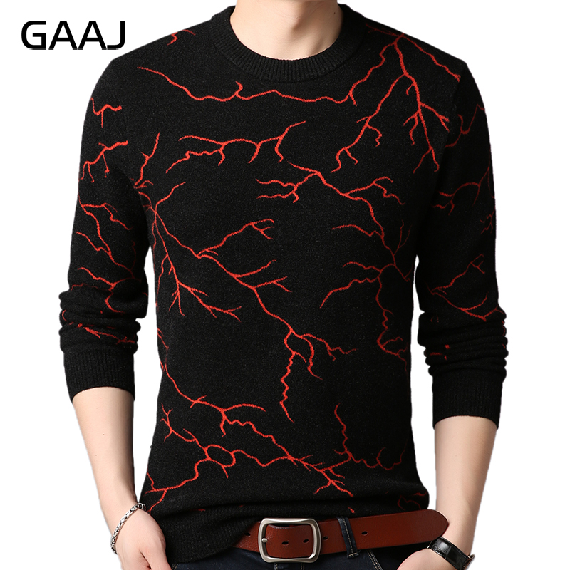 HISTREX 2019 Brand Thick Warm Winter Lightning Knitted Pull Sweater Men Wear Pullover Mens Sweaters Male Fashion Man Sweater