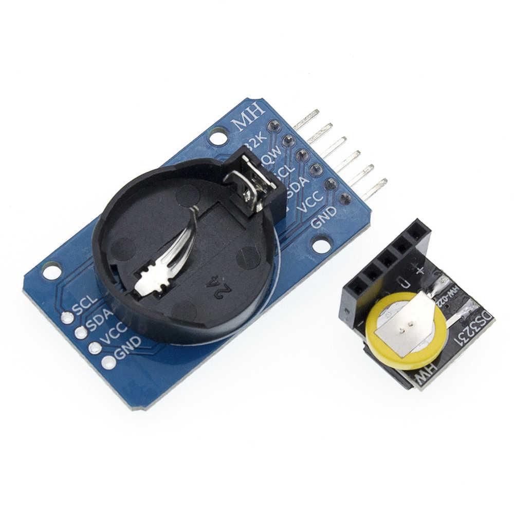 DS3231 AT24C32 IIC מודול דיוק שעון מודול DS3231SN זיכרון מודול DS3231 מיני זמן אמת מודול 3.3V/5V עבור פטל Pi