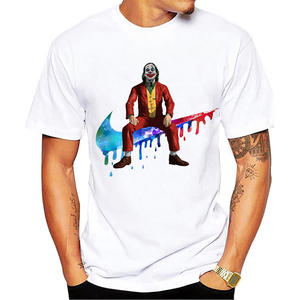 Funny T-Shirt Phoenix Joker Joaquin Cool Homme White Casual Antihero Men New