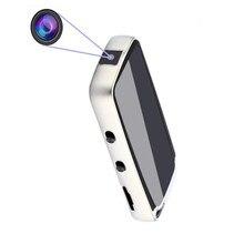 цена на Portable Hidden Digital Voice Recorder Mini DVR Audio Sound Recorder Professional Recording with 720P Camera Dictapho