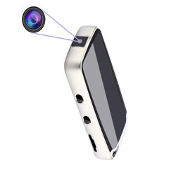 Portable Hidden Digital Voice Recorder Mini DVR Audio Sound Recorder Professional Recording with 720P Camera Dictapho