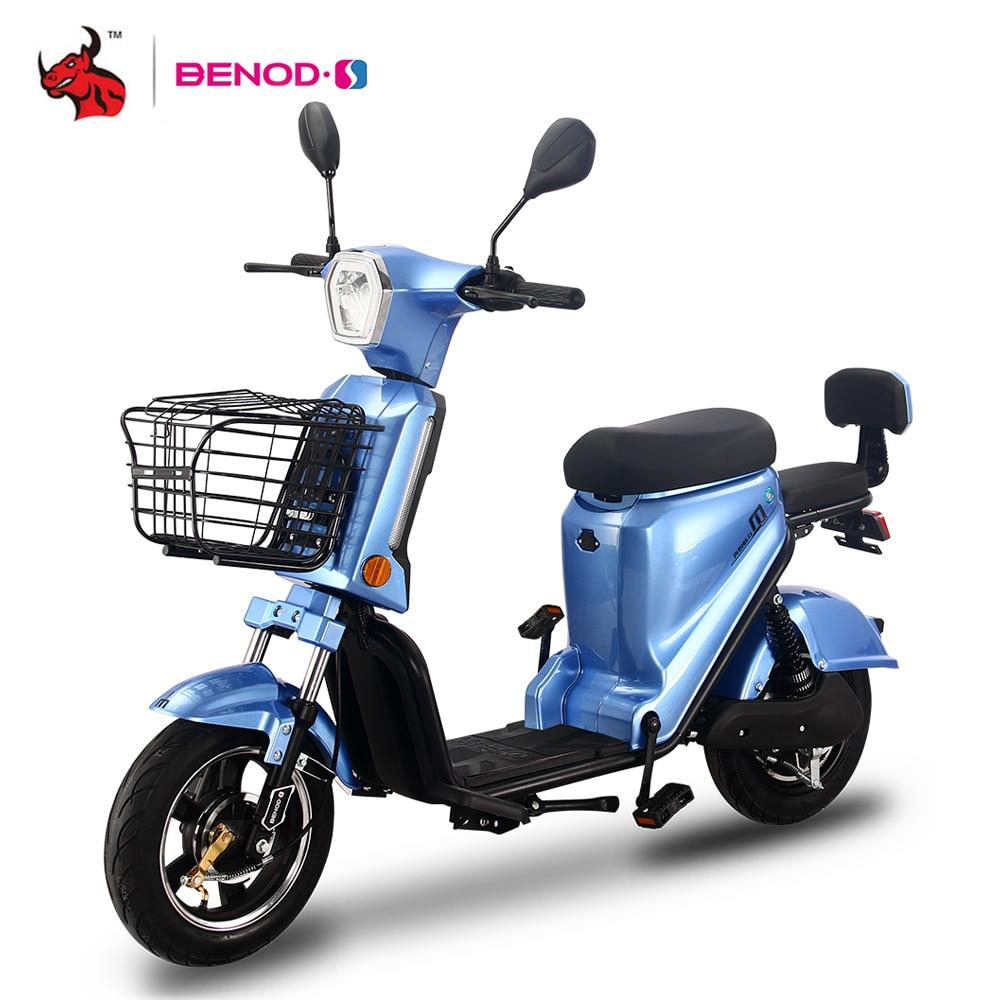 BENOD Электрический мотоцикл скутер Мотор Электрический скутер Байкер Электрический высокоскоростной высокопроизводительный мотор с литие...