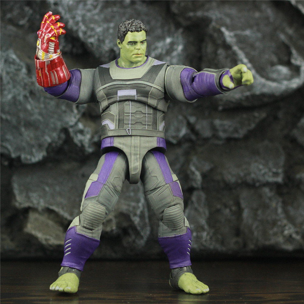 Marvel Select Avengers 4 Endgame HULK Quantum Suit 7