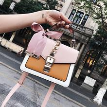 2019 New Womens Bag Messenger for Women Girls Mini Square Shoulder Clutch Female Designer Wallet Handbag