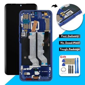 Перейти на Алиэкспресс и купить Оригинальный 6,47 дюймЖК-дисплей для ZTE Axon 10 Pro 5G / 4G A2020 ЖК-дисплей сенсорный экран дигитайзер стеклянная панель в сборе + рамка