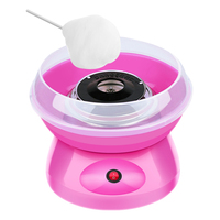 DIDIHOU Electric Sweet Cotton Candy Maker Portable Cotton Sugar Floss Machine Gift Children's Day Marshmallow Machine Cotton