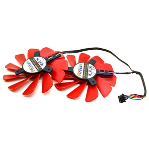 Ventilateur refroidisseur 4 broches, 85MM, FDC10U12S9-C, 570, pour XFX RX 560D, RX 580, RX, RX Vega