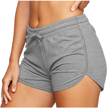 Women´s Shorts Ladies Summer Casual Females Sports Shorts Lace-up Run Bike Loose Pockets Solid Shorts Hot Fitness Gym Wear Running & Yoga Sports & Entertainment Sports and Outdoor Women Sportswear Yoga Pants Yoga Shorts Color: B Size: XXL