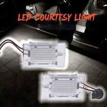 2pcs Led Courtesy Door Step Light For Ford Focus 11 Cabriolet MK1 Facelift Escort Fiesta Granada Scorpio