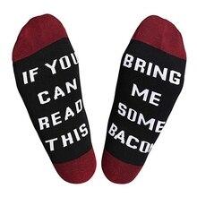Casual Socks Adult Letter Printed Cotton Spandex Hosiery Footwear Accessories