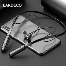 цена на EARDECO Wireless Bluetooth Headphone Neckband Sport Stereo Headset Waterproof Magnetic With Microphone Bass Earphone For Phone
