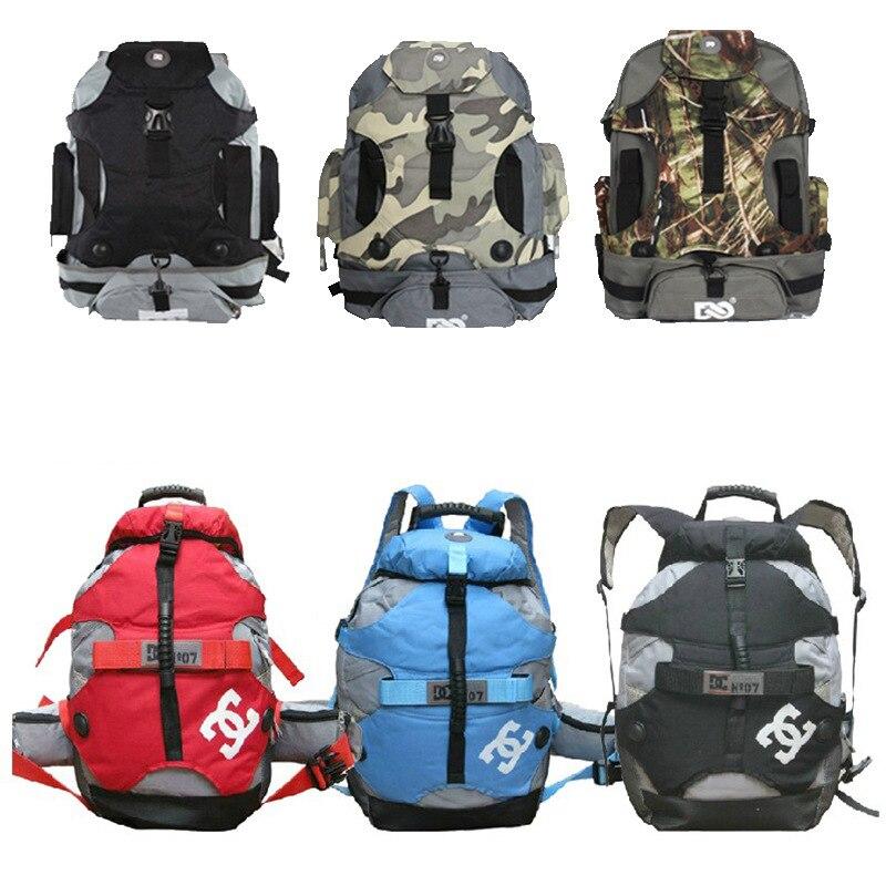 Lun Hua Bao Dc Tundish Large Bag Shoulder Backpack Skates Roller Skates Adult Men's And Women's Unicycle Wheel Bag