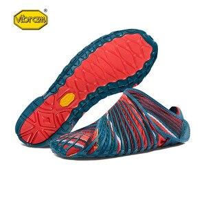 Image 4 - Vibram FUROSHIKI Walkingกีฬายืดผ้ารองเท้าผู้หญิงSuper Lightห้านิ้วมือวิ่งพับแบบพกพารองเท้าผ้าใบ