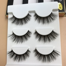 Makeup Extension Lashes Magnetic Eyelashes Handmade Highquality 3d Mink False Natural Individual EyemakeupTools