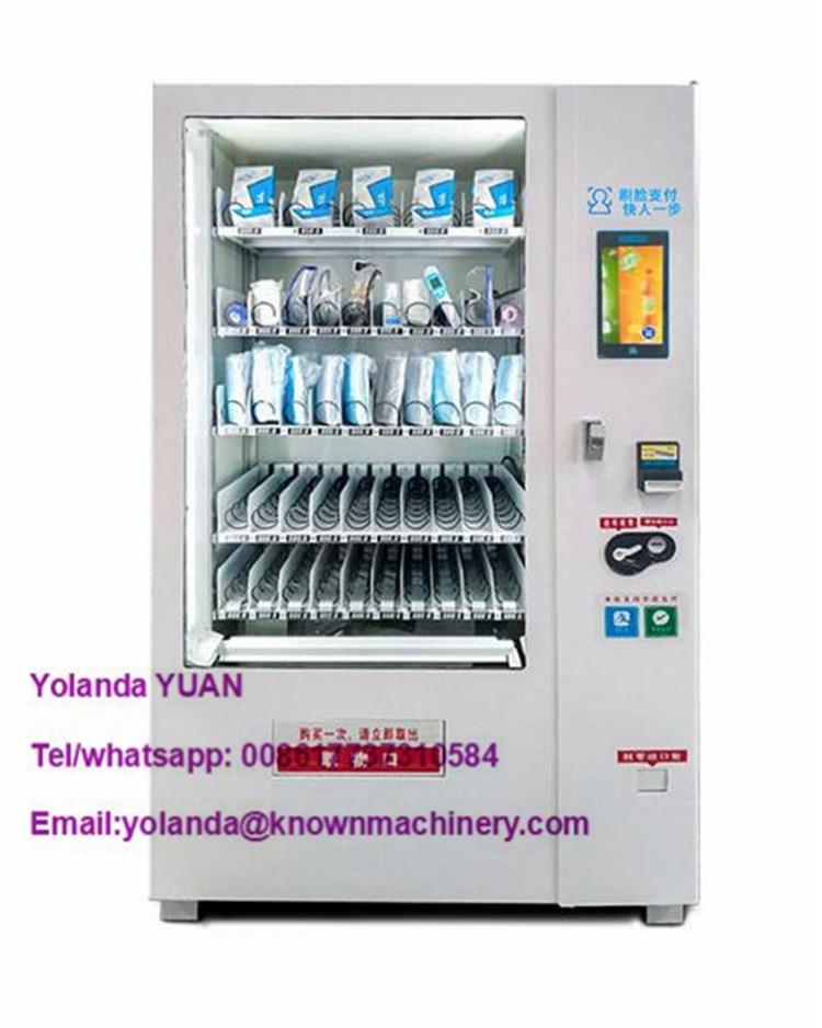 Mask Vending Machine Medical Goods Automatic Sale Machine Beverage Food Vending Machine