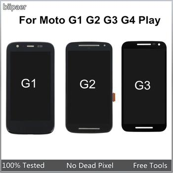 LCD Display For Motorola G3 G1 XT1032 G2 XT1063 XT1064 G3 XT1544 G4 Play XT1601 LCD Touch Screen Digitizer Assembly For Moto G3 цена 2017