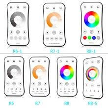 2.4G RF bezprzewodowy LED dotykowy zdalny pojedynczy kolor/temperatura barwowa/RGB/dioda led RGBW pilot do przyciemniania światła