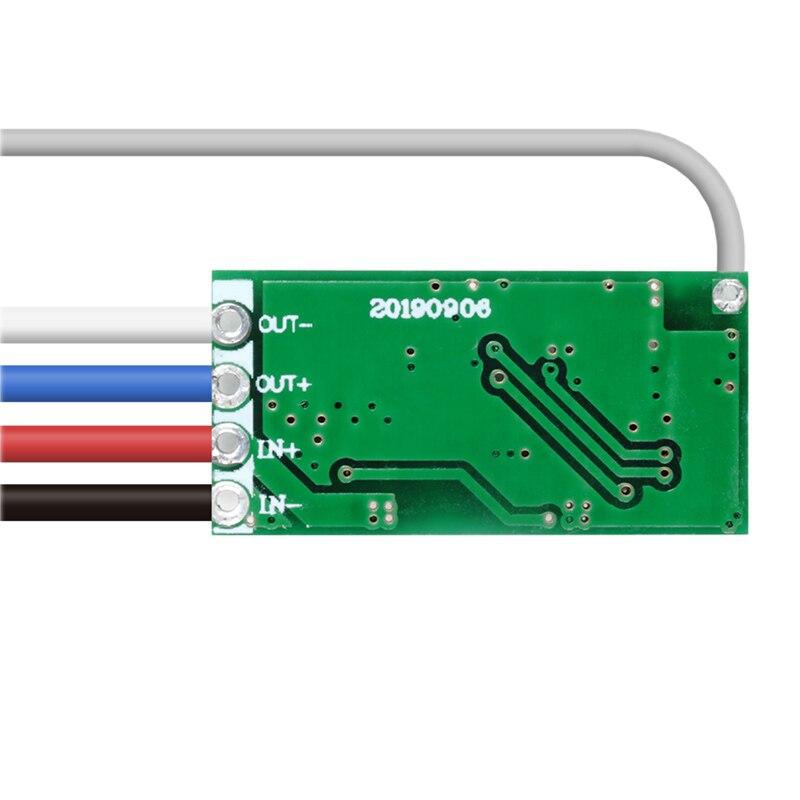 433mhz DC 3.6V 6V 12V 24V 1CH Mini Relay Wireless RF Remote Control Switch Power