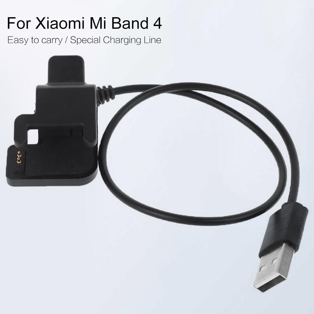 2019 Newest High Quality USB Charging Dock Cable Replacement Cord Charger For Xiaomi Mi Band 4 Smart Bracelet