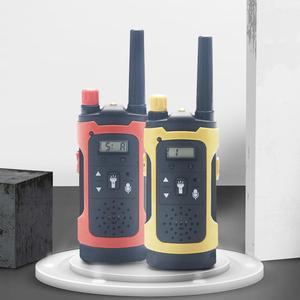2 Pcs/Set Children Toys 22 Channel Walkie Talkies Two Way Radio UHF Long Range Handheld Transceiver Kids Gift