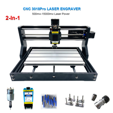 3018Pro Laser Graveermachine 3 Assige Cnc Laser Graveur 0.5W-15W Power Snijden Hout Cnc Freesmachine mini Graveren Machines