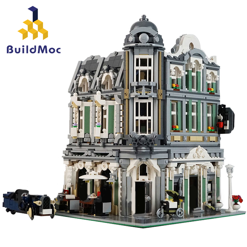 32576 Building Toys Series Compatible lepining 10255 Assembly Square Set Kids Toys Building Blocks Bricks Christmas Gift 1