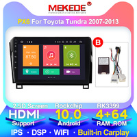 MEKEDE 4G LTE For Toyota Tundra XK50 2007 2013 Car Radio Multimedia Video Player Navigation GPS Android 10 No 2din 2 din dvd