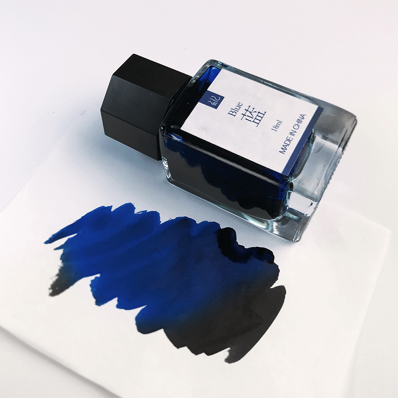 18ml Fountain Pen Ink Black Blue Red Dark-blue Non-carbon Ink For Glass Pen Dip Pens Ink Supplies