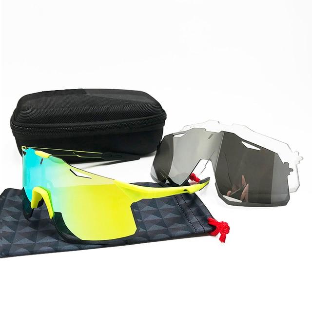 Óculos photochromic esportes ao ar livre ciclismo óculos de sol gafas ciclismo óculos esporte óculos de bicicleta velocidade 5
