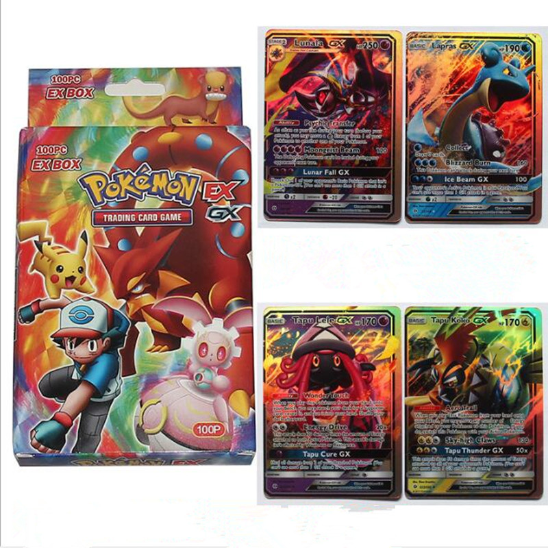100 Pieces No Repeat Cartoon Play Card Card Collection Boys Duel Monsters Board Role-playing Games Paper Cards Fantasy Movie