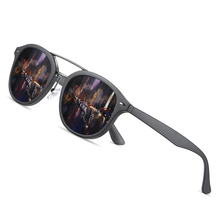 AOFLY מותג מעצב קלאסי מקוטב שמש משקפיים גברים נשים Ultralight TR90 מסגרת עגול למשלוח זכר Gafas Oculos דה סול