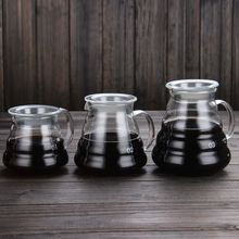 Glass Coffee Pot Cloud Shaped Coffee Kettle Reusable Coffee Pot Heat Resistant Teapot