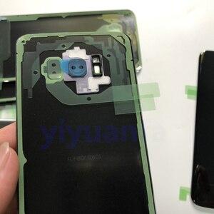 Image 4 - S8 Original Habitação Porta Da Bateria Tampa Traseira de Vidro de Substituição Para Samsung Galaxy S8 G950 G950F G950FD SM G9500 + Cola À Prova D Água