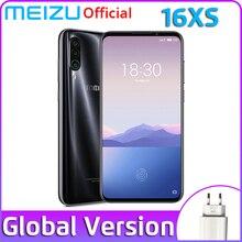 Meizu 16XS, 6 ГБ, 64 ГБ, глобальная версия, 16 XS, Смартфон Snapdragon 675, 48мп, тройная камера, мобильный телефон, большая батарея, быстрая зарядка