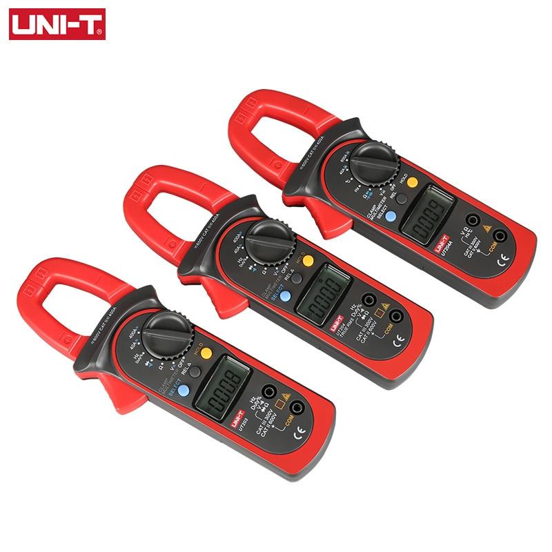 Volt Meter T UT204A Digital Multimeter Tester UT203 DC Handheld Amp AC Clamp CE UNI UT204 DMM