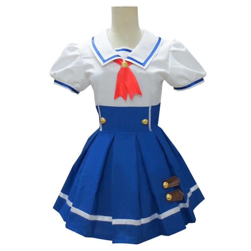 Aikatsu Idol Activity Ichigo Hoshimiya Aoi Kiriya Summer Cloth Cosplay Costume