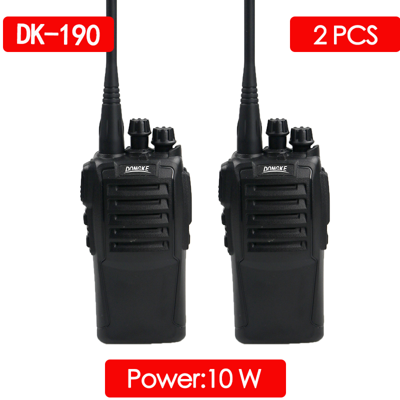 2pcs DONGKE 9005 Portable Walkie Talkie Uhf 400-470mhz Two Way Radio Station Walkie-talkies Cb Radio Ham Radio Comunicador