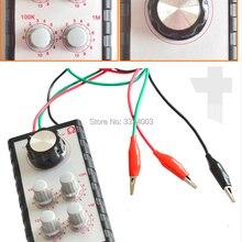 24 В Автомобильный датчик, имитатор сигналов, диагностический инструмент для обслуживания цепи, регулируемое сопротивление Simulator Drive Box