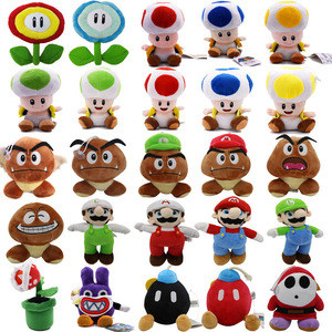 7-25CM Super Mario Bros Boo Luigi Toadette Mushroom Goomba Stealth Rabbit Koopa Shy Guy Dry Bones Stuffed Plush Toys Kids Gifts