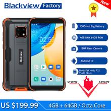 Blackview BV4900 Pro Smartphone 4GB + 64GB 5580mAh IP68 wodoodporny Android 10 telefon komórkowy 5 7 #8221 NFC telefony komórkowe tanie tanio Nie odpinany Inne CN (pochodzenie) Rozpoznawania twarzy 13MP Nonsupport english Rosyjski Niemiecki French Spanish POLISH