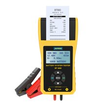 Autool BT660 12V Batterij Tester Auto Batterijen Gereedschap Meten Met Thermische Printer Automotive Power System Diagnostic Meter(China)