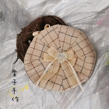 Lolita Beret Cute Autumn And Winter SOFT Girl Pumpkin Hat Lo