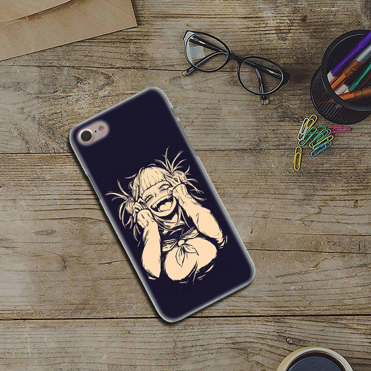 Lavaza Anime Himiko Toga Boku No Anh Hùng Giới Học Thuật Cứng Ốp Lưng điện thoại Iphone XR XS X 11 Pro Max 10 7 8 6 6S 5 5S SE 4S 4